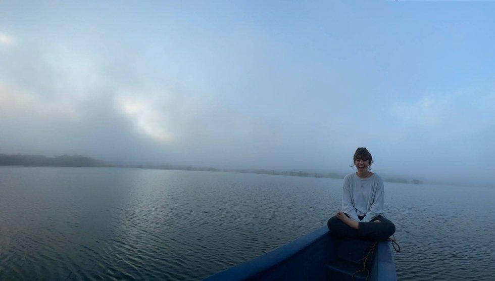 Sunrise in the Laguna Grande