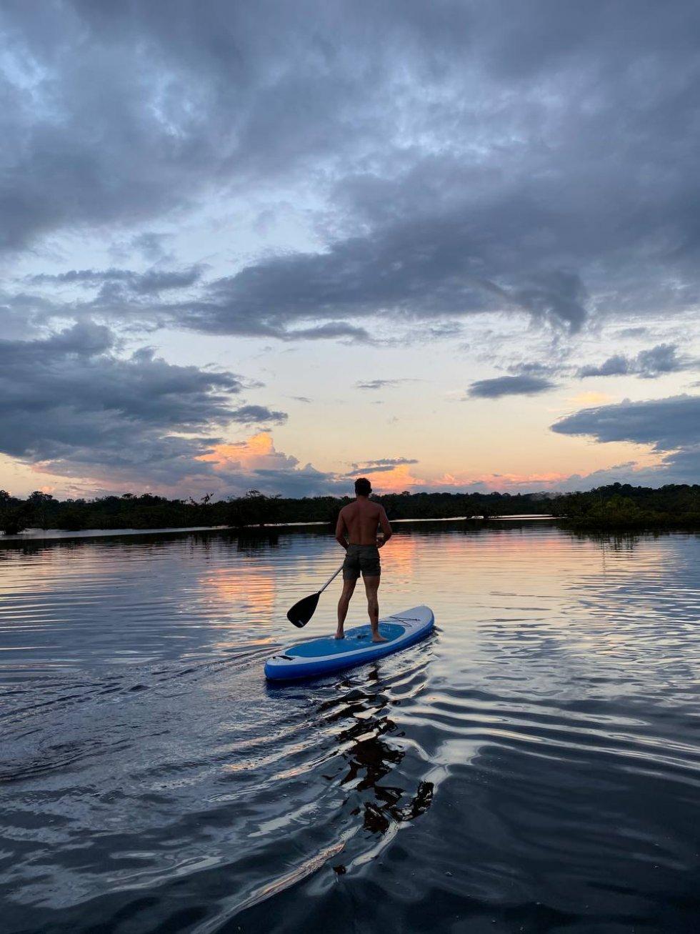 Kayak in the Laguna Grande
